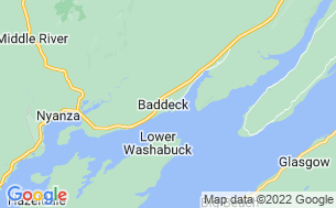 Map of Baddeck Cabot Trail Campground