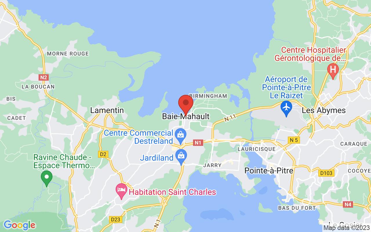 Google Maps Baie-Mahault