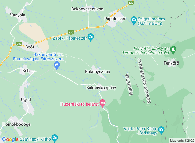 Bakonyszücs