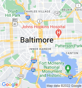 Baltimore MD Map