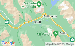 Map of Banff/Two Jack Lakeside