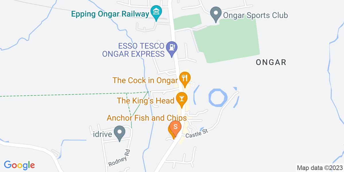 Google Map of Bansons Lane Ongar CM5 9AR