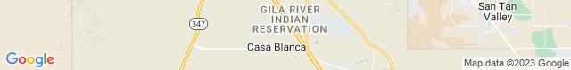 Map of AZ
