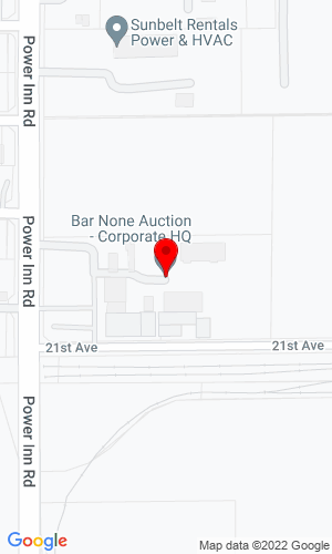 Google Map of Bar None Auction 2440 Gold River Road, Suite 200, Rancho Cordova, CA, 95670
