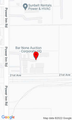 Google Map of Bar None Auction 2440 Gold River Road, Suite 200, Rancho Cordova, CA, 95670,