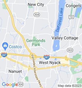 Bardonia NY Map