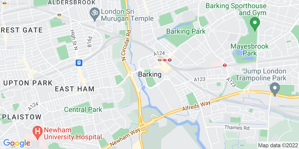 Map: Learning Support Assistant with BSL Qualifications job in Barking