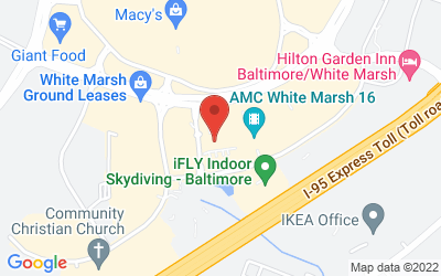 Map of WHITE MARSH-Barnes & Noble Cafe