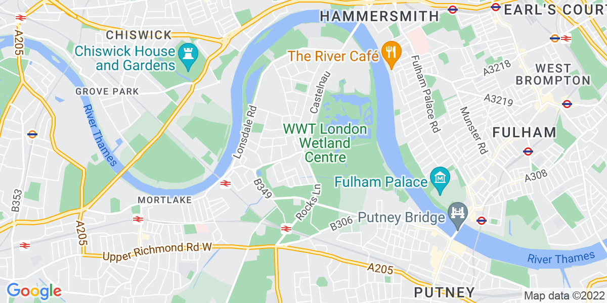 Map: Part time Cleaner 3.30pm-7.30pm in  job role in Barnes