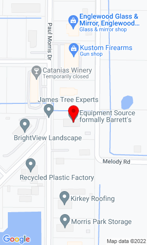 Google Map of Barretts Equipment 2860 Avenue of the Americas, Englewood, FL, 34224