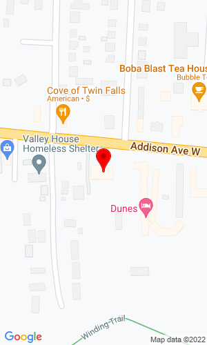 Google Map of Barry Rental, Inc 465 Addison Avenue West, Twin Falls, ID, 83301