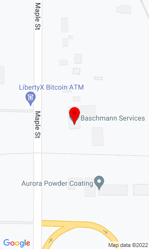 Google Map of Baschmann Services Inc. 1101 Maple Road, Elma, NY, 14059,