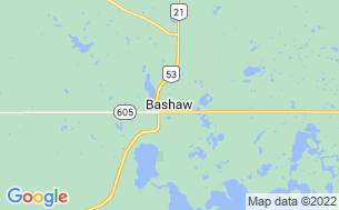 Map of Bashaw Municipal Campground