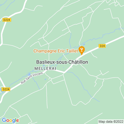 bed and breakfast Baslieux-sous-Châtillon