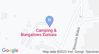 Camping Zumaia mapa