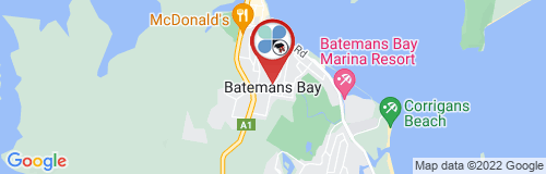 Batemans Bay google map