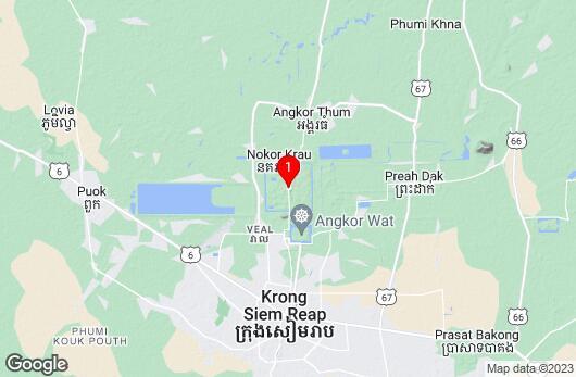 Google Map of Bayon Kambodscha