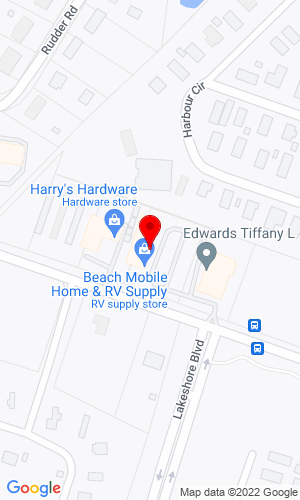 Google Map of Beach Mobile Home Supply 32695 Long Neck Road, Millsboro, DE, 19966