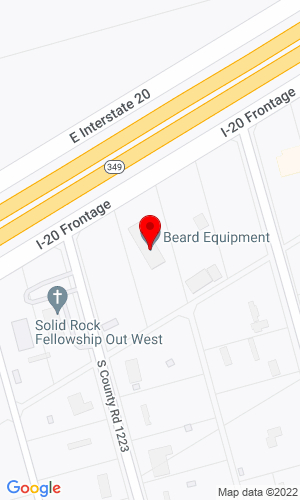 Google Map of Beard Equipment Co., Inc. 4509 I-20 Frontage, Midland, TX, 79706