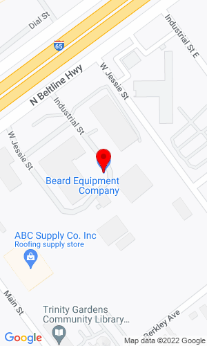Google Map of Beard Equipment Company 2480 East I-65 Service Rd N, Mobile, AL, 36617