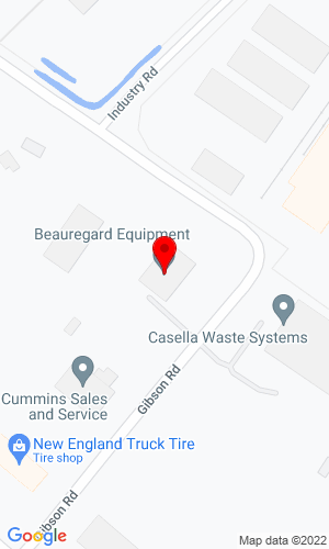 Google Map of Beauregard Equipment, Inc. 14 Gibson Road, Scarborough, ME, 04074