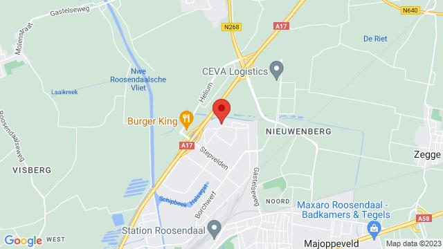 Van+Mossel+Ford+Roosendaal op Google Maps