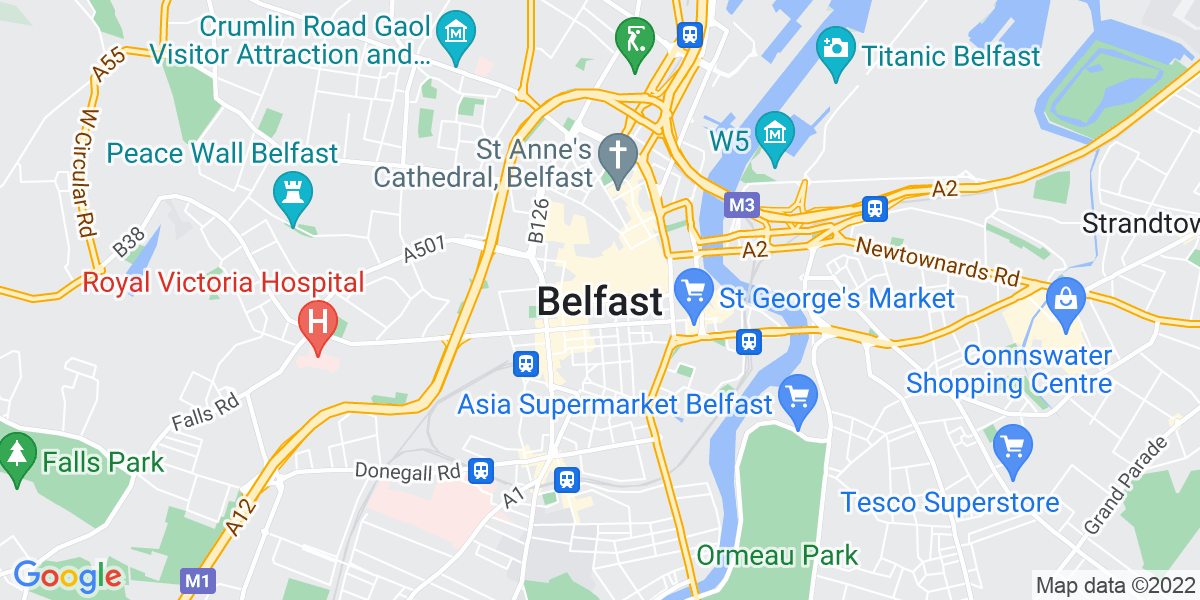 Map: Audit and Assurance, Independent Risk Review Manager (Full/ Part Time), Audit Centre of Excellence role in Belfast