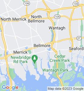 Bellmore NY Map