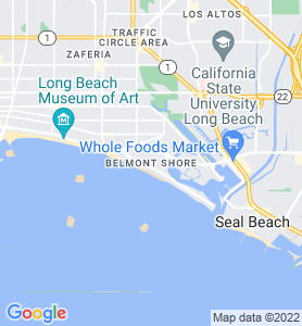 Belmont Shore CA Map