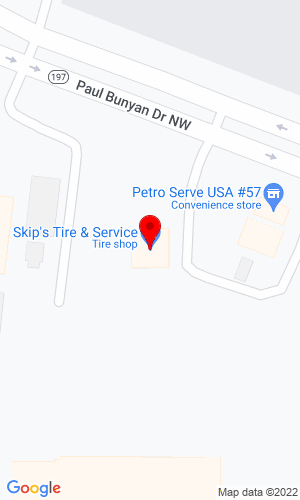 Google Map of Bemidji Certified Auto 1755 Paul Bunyan Drive NW, Bemidji, MN, 56601