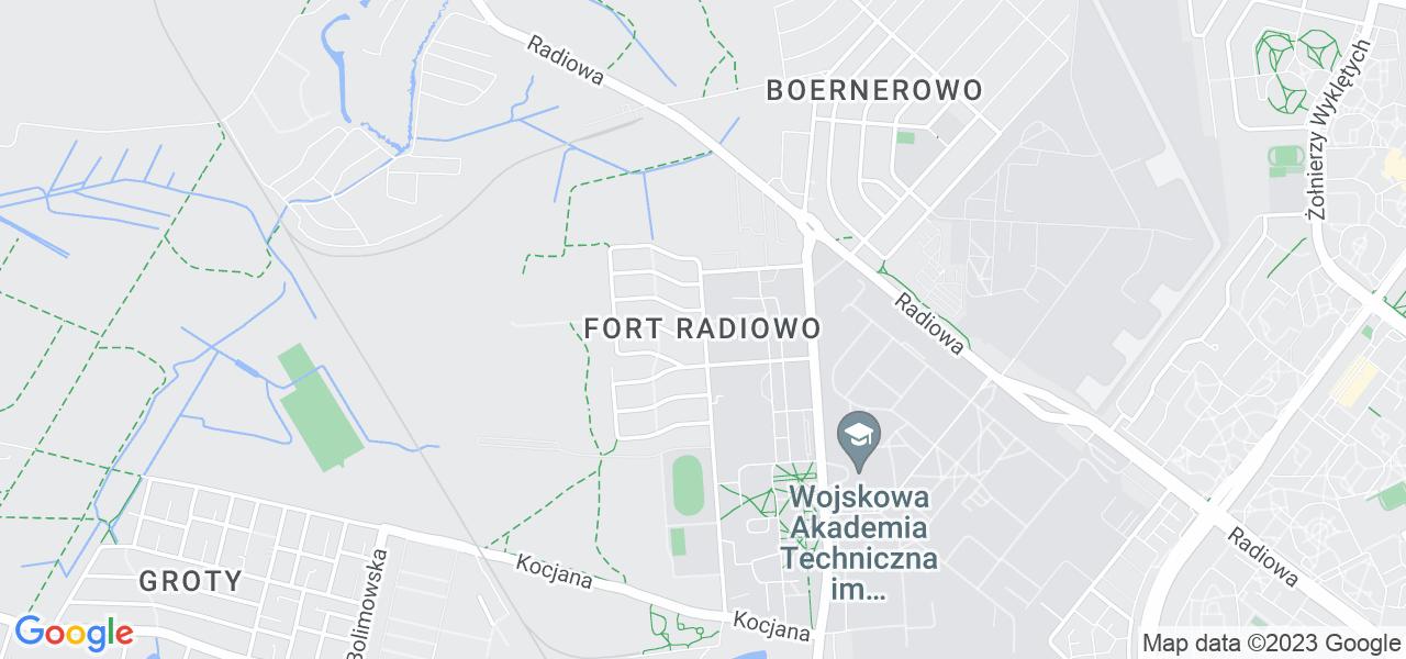 Osiedle Bemowo - Fort Radiowo w Warszawie – w tych punktach ekspresowo wyślesz turbinę do autoryzowanego serwisu