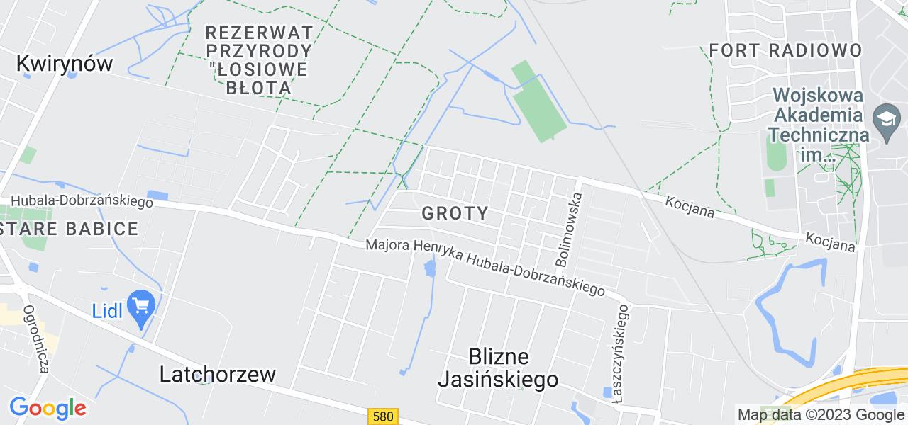 Osiedle Bemowo - Groty w Warszawie – w tych punktach ekspresowo wyślesz turbinę do autoryzowanego serwisu