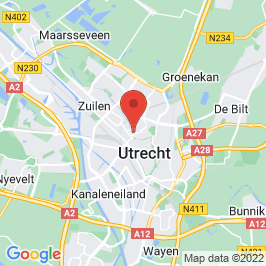 Google map of Woonkerk, Utrecht