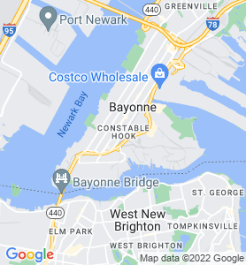 Bergen Point NJ Map