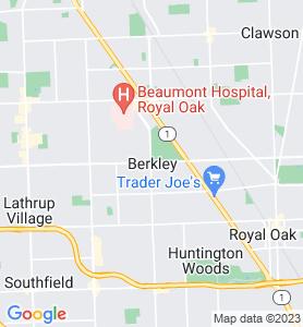 Berkley MI Map