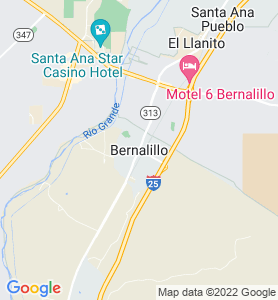 Bernalillo NM Map