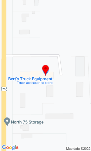 Google Map of Bert's Truck Equipment of Moorhead 3804 US - 75, Moorhead, MN, 56560