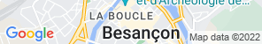 Google Map of Besançon