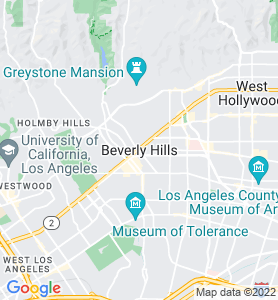 Beverly Hills CA Map