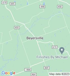 Beyersville TX Map