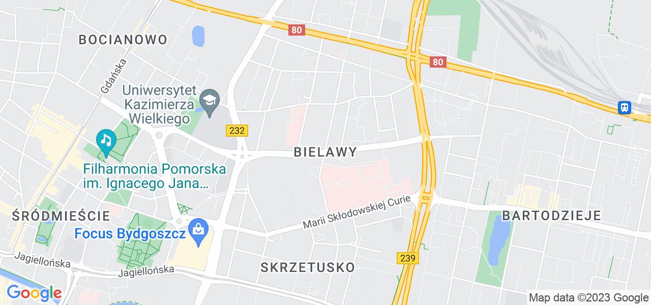 Osiedle Bielawy w Bydgoszczy – w tych punktach ekspresowo wyślesz turbinę do autoryzowanego serwisu