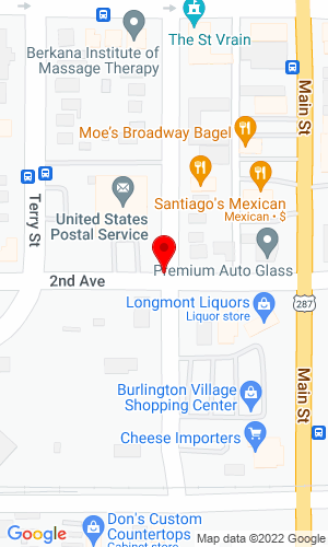 Google Map of Big Horn Equipment Company P O Box 2491 , Longmont, CO, 80502