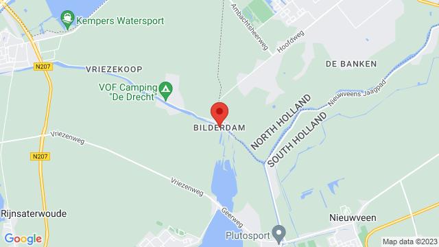 Leimuiden op Google Maps