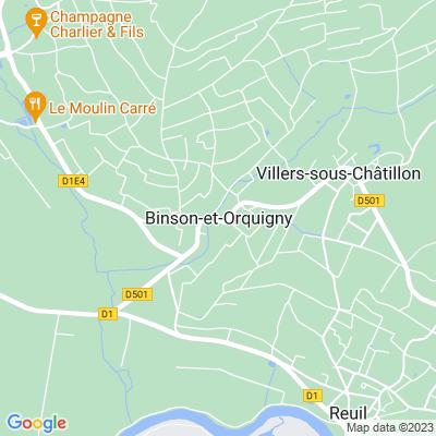 bed and breakfast Binson-et-Orquigny