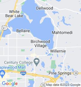 Birchwood MN Map