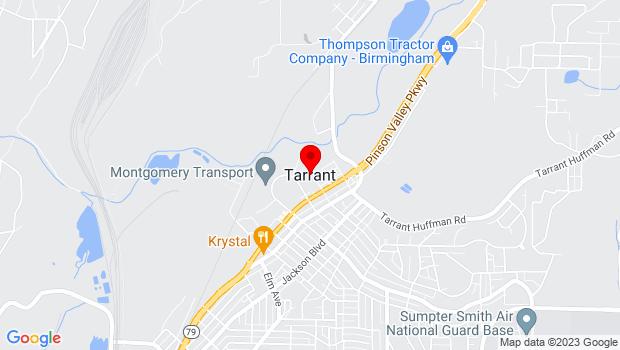 Google Map of Birmingham, AL 35217