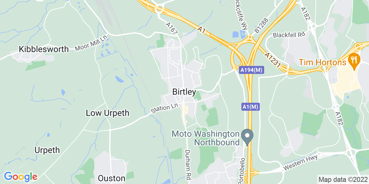 Map: Courier Driver  job in Birtley