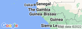 Bissau map