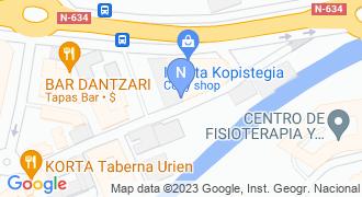 ZARATE Y ELEXPE ERAGILEAK, S.L. mapa