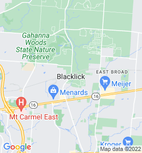 Blacklick OH Map